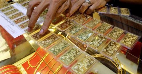 Giá vàng SJC bật tăng phiên đầu tuần