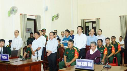 Đại tá quân đội sản xuất xăng giả lĩnh án 9 năm tù