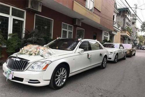 """Hé lộ chi phí tổ chức """"khủng"""" 54 tỷ đồng cùng hình ảnh dàn xe siêu sang biển """"tứ quý"""" trong đám cưới con đại gia Quảng Ninh"""