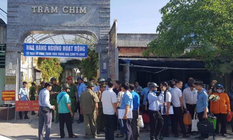 Cưỡng chế Gia Trang Tràm Chim Resort