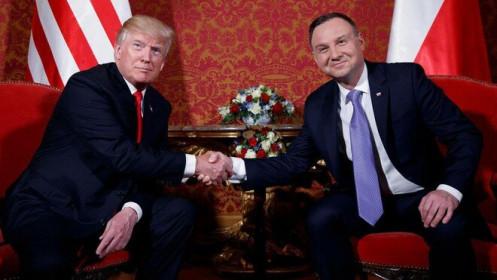 """Ba Lan kiên quyết """"cõng"""" Mỹ vào nhà để đối phó hàng xóm Nga?"""