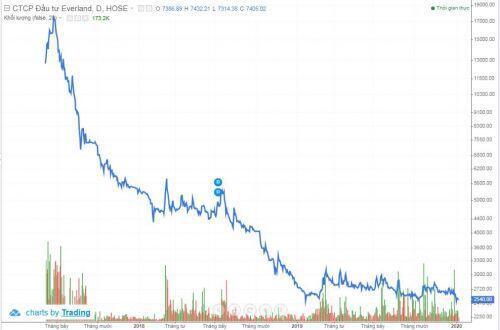EVG: Giá cổ phiếu dậm chân, cổ đông lớn bán ra hơn 1 triệu cổ phiếu