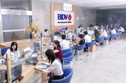 Thị giá cổ phiếu BID tăng trưởng 42,5% so với đầu năm