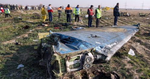 Iran thừa nhận quân đội bắn nhầm máy bay Ukraine khiến 176 người chết