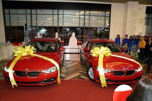 C.T Group thưởng Tết bằng xe hơi BMW