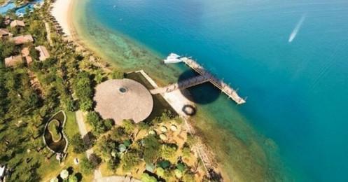 """""""Xây lụi"""" nhà hàng ngàn mét vuông trên đảo Hòn Tằm, Nha Trang"""