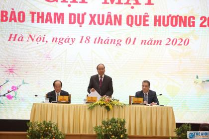 Thủ tướng Nguyễn Xuân Phúc kêu gọi kiều bào chung tay tạo đột phá cho Việt Nam