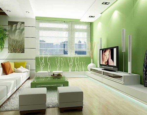 Ngày Tết trang trí phòng khách màu gì để rước lộc về nhà?