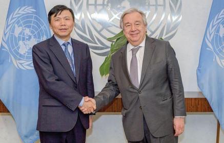 Phái đoàn Việt Nam tại Liên hợp quốc: Ăn, ngủ và đón Tết Hội đồng Bảo an