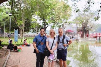 """Tour guide tự do cho """"Tây"""": Thành công dành cho người đam mê"""
