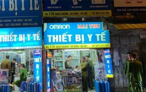 """Hà Nội: Hai cửa hàng bán khẩu trang giá """"cắt cổ"""" bị phạt hàng chục triệu đồng"""