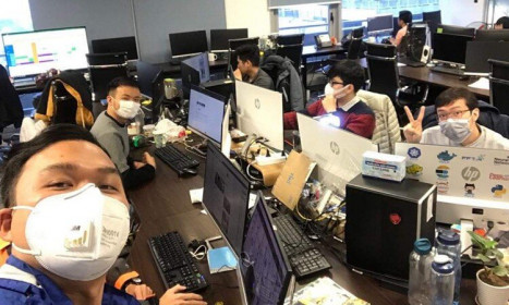 Các công sở tìm cách phòng ngừa dịch viêm phổi