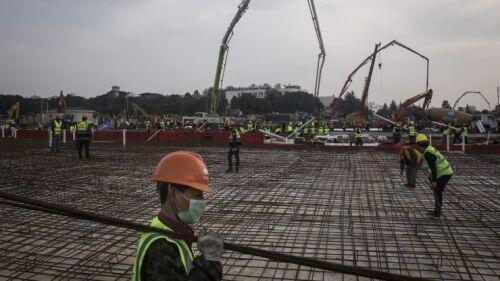 Toàn cảnh 8 ngày Vũ Hán xây cấp tốc bệnh viện dã chiến đối phó virus corona