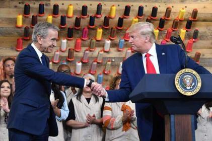 """5 tỷ phú kiếm """"bộn"""" ông nhất kể từ khi ông Trump thành tổng thống"""