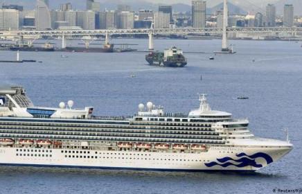 Nhật Bản: Thêm 10 trường hợp trên du thuyền chở 3.700 hành khách có kết quả dương tính với virus corona