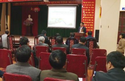Lấy ý kiến người dân về dự án khu đô thị gần đường Nhật Tân – Nội Bài