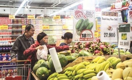 Thị trường thực phẩm ảm đạm