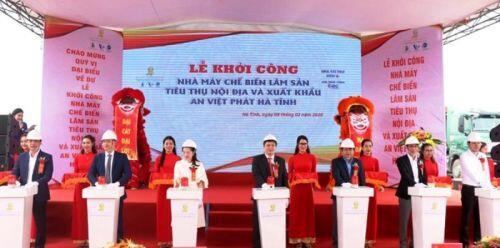 Nhà máy sản xuất, chế biến lâm sản 1.300 tỷ đồng tại KCN Vũng Áng sẽ hoạt động sau 15 tháng thi công