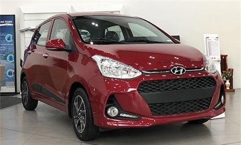 Hyundai Grand i10 giảm giá cực sốc, khiến Kia Morning, Toyota Wigo, Honda Brio 'suy sụp'