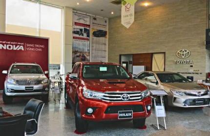 Doanh số xe Toyota bán ra trong tháng 1/2020 giảm 48%
