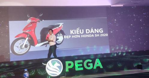 """""""Dìm hàng"""", đặt tên nhái theo SH 2020, Pega nói """"chỉ là hiểu lầm"""", muốn Pega, Honda """"học hỏi nhau"""""""