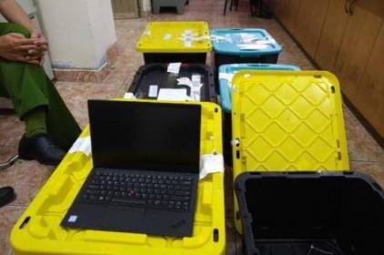 Triệt phá đường dây nhập lậu laptop và điện thoại iPhone từ Mỹ về Việt Nam