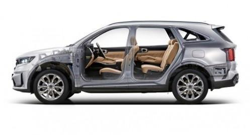 SUV Kia Sorento 2021 sở hữu nền tảng mới và động cơ hybrid 227 mã lực