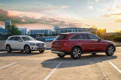 Giá lăn bánh Mercedes-Benz GLC 200 2020 vừa ra mắt tại Việt Nam