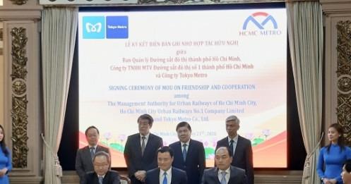 Nhật Bản sẽ tư vấn TP.HCM nghiên cứu kéo dài tuyến đường sắt đô thị số 1