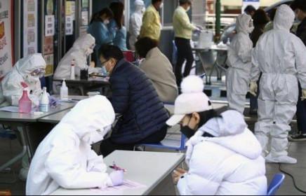 Thành phố Daegu, Hàn Quốc mặt trận mới chống virus corona