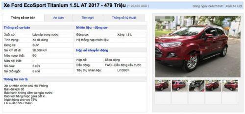 Giải cứu xe mùa dịch Covid-19: Nhiều loại 7 chỗ chỉ bán dưới 600 triệu đồng