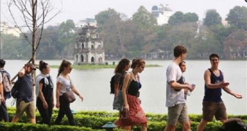 Hơn 1,3 triệu khách du lịch đã đến Hà Nội trong tháng 2