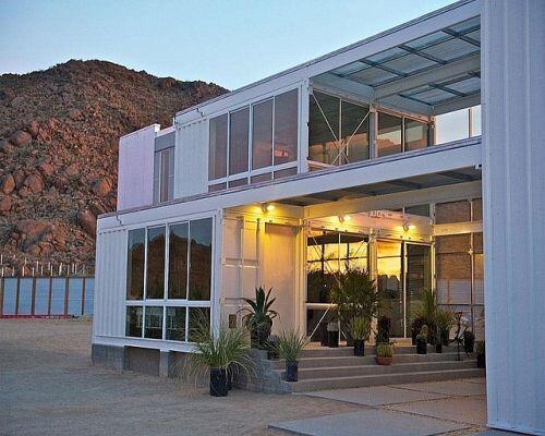 Chiêm ngưỡng những căn nhà container ấn tượng nhất thế giới