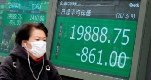 """Nhà đầu tư """"né"""" cú sốc Covid-19, giá dầu và chứng khoán châu Á rủ nhau lao dốc"""