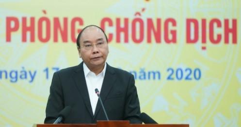 Thủ tướng: Tôi có niềm tin Việt Nam đẩy lùi, chắn đứng được đại dịch COVID-19