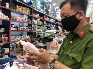 TPHCM phát hiện chuỗi cửa hàng mỹ phẩm nghi giả, nhái