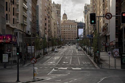 Những ngày đường phố Châu Âu vắng lặng