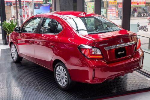 Cận cảnh Mitsubishi Attrage CVT 2020 giá 460 triệu đồng tại Việt Nam