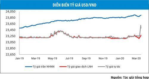 Tỷ giá cuối tháng 3: Áp lực tăng sẽ không lớn