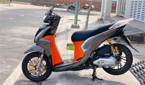 Sốc với Honda Vision giá rẻ, độ đẹp không kém SH 150 2020