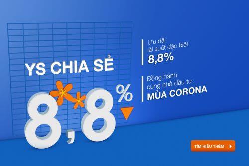 Yuanta Việt Nam hạ lãi suất margin còn 8,8% đồng hành cùng nhà đầu tư mùa dịch Covid-19