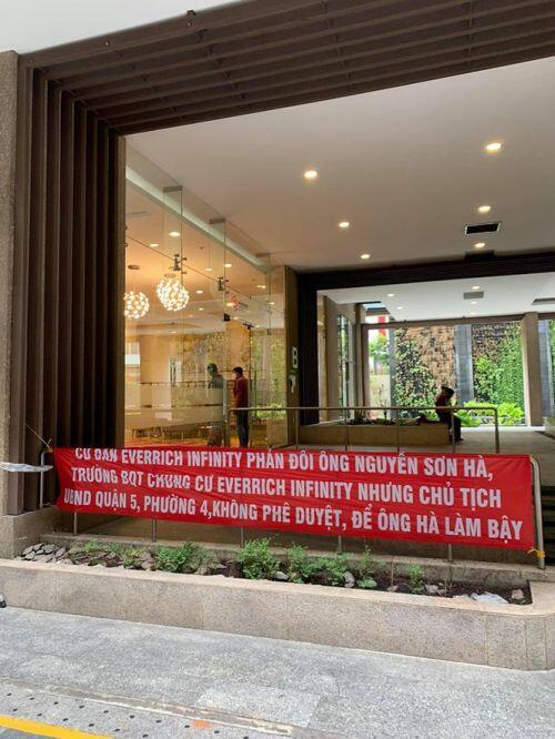 Chung cư Sài Gòn cúp nước của cư dân giữa mùa dịch COVID-19