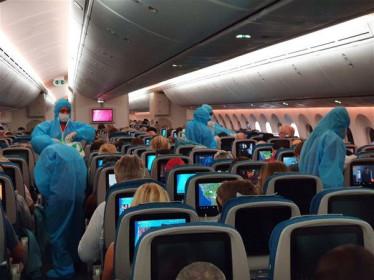 Vietnam Airlines đưa 600 công dân châu Âu hồi hương