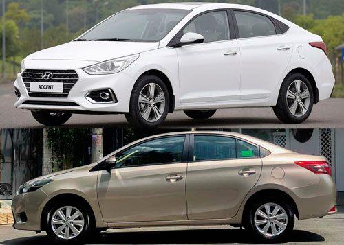 Mua xe chạy dịch vụ tầm giá dưới 600 triệu đồng, chọn Hyundai Accent hay Toyota Vios