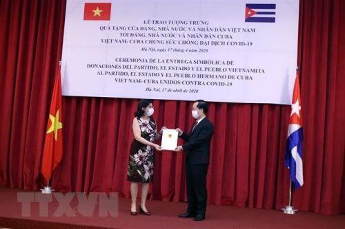 Cuba sẵn sàng hợp tác với Việt Nam nghiên cứu sản xuất ra các loại thuốc chống Covid-19