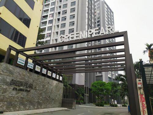 Cận cảnh các công trình xây dựng hợp khối trái phép tại dự án Green Pearl