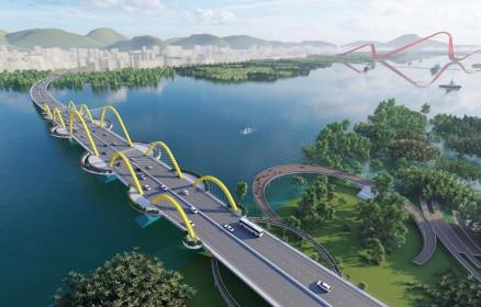 Quảng Ninh sẵn sàng khởi công 2 cầu bắc qua vịnh Cửa Lục, tổng mức đầu tư 3.852 tỷ đồng