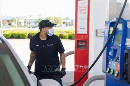 Giá dầulao dốc xuống dưới 11 USD trong phiên sáng 28/4