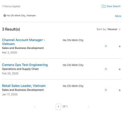 Apple tuyển dụng hàng loạt vị trí làm việc tại Việt Nam, phải chăng sắp có Apple Store hay nhà máy mới?