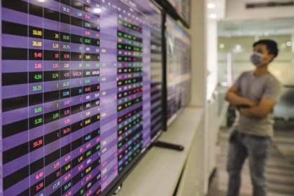 Cổ phiếu ngân hàng: Riêng một góc trời